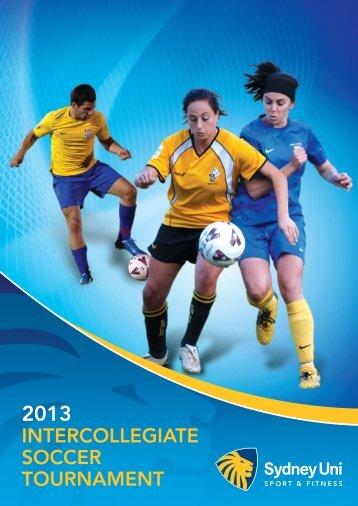 IntercollegIate Soccer tournament - Sydney University Sport