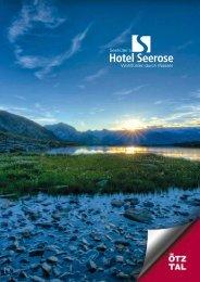 Broschüre im PDF Format downloaden - Seehüter´s Hotel Seerose