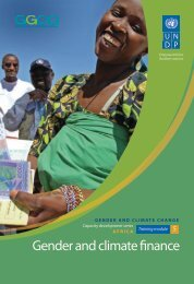 Module 5: Gender and Climate Finance - Gender Climate