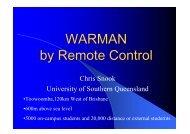 WARMAN by Remote Control - NCED