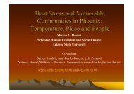 Heat Stress and Vulnerable Communities in Phoenix - ICLEI Local ...