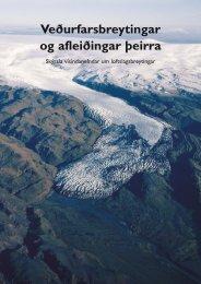 Veðurfarsbreytingar og afleiðingar þeirra - Umhverfisstofnun
