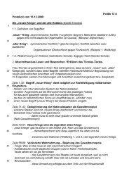 """Politik 13 d Protokoll vom 16.12.2009 Die """"neuen Kriege"""" und der ..."""