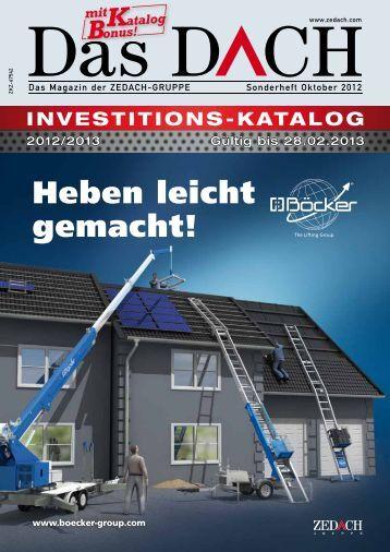 NEU: Jetzt mit Katalog-Bonus! - DEG Alles für das Dach eg