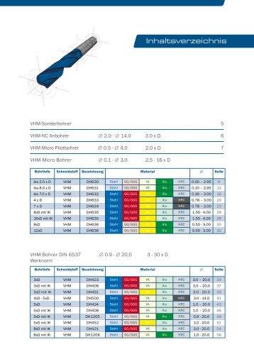 Inhaltsverzeichnis - MAS Tools & Engineering