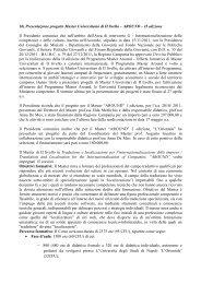 1b) Presentazione progetto Master Universitario di II livello – AROUND