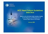 ACC Heart Failure Guidelines
