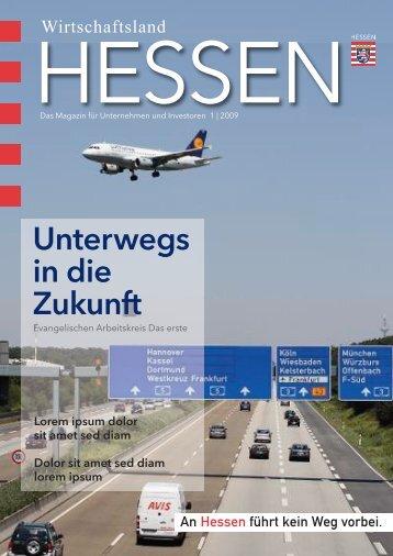 Unterwegs in die Zukunft - Invest-in-Hessen.de