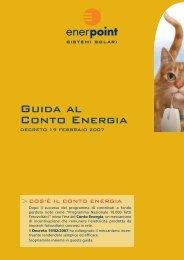 Guida al Conto Energia - Enerpoint