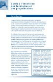 Guide à l'intention des locataires et propriétaires. - TRAC Tenant ... - Page 3