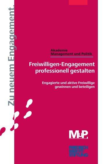 Freiwilligen-Engagement professionell gestalten - Akademie ...