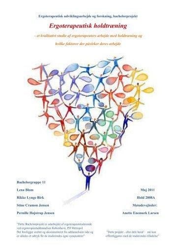 [pdf] Ergoterapeutisk holdtræning - Ergoterapeutforeningen