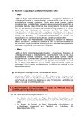 synthèse des études - Institut de langue et de littérature françaises - Page 6