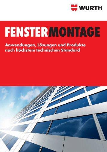 Fenstermontage - Würth