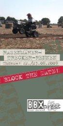 BLOCK THE DATE! - BBX-Racing