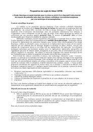Proposition de sujet de thèse CIFRE: - Accueil - Université Pierre et ...