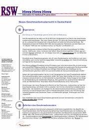 Sommer 2003 - Reinhard Skuhra Weise & Partner, GbR
