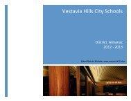 vhcs district almanac 2012-13 - Vestavia Hills City Schools