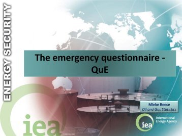 The emergency questionnaire - QuE