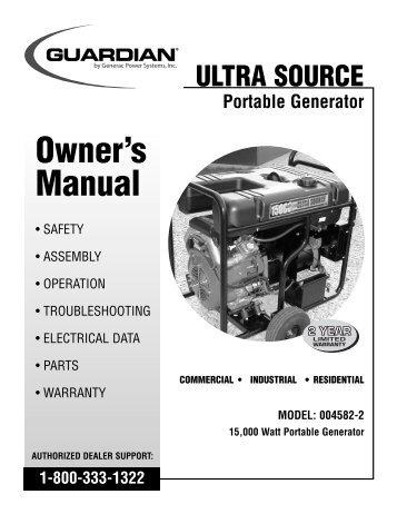 Generac quietpact 40g manual