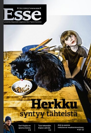 Esse 08/2013 (pdf) - Espoon seurakuntasanomat