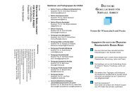 D G S A - Deutsche Gesellschaft für Sozialarbeit e.V.