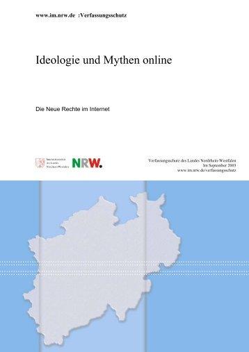 Ideologie und Mythen online - MIK NRW