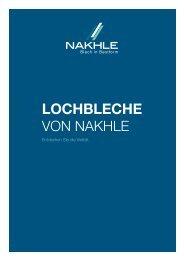 Lochblech Katalog - NAKHLE