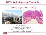 NET - Onkologische Therapie - gastroenterologie-wintertreffen.at