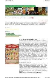 Page 1 of 4 cestas_info N° 21 02/12/2009 file://C:\Docs ...