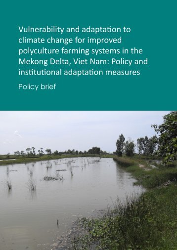 Policy brief - Library - Network of Aquaculture Centres in Asia-Pacific