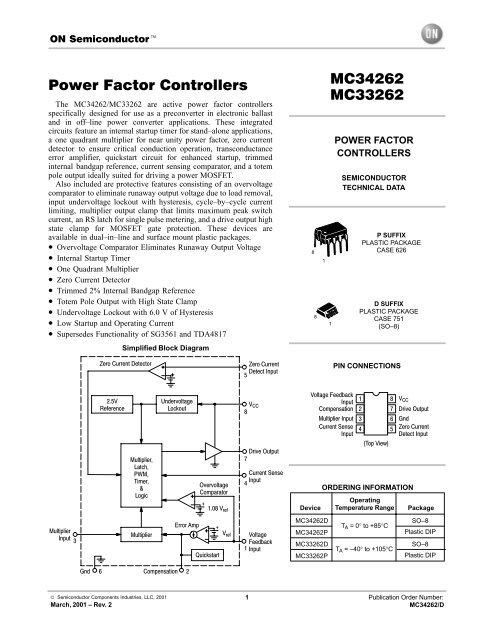 DRIVER UPDATE: MC34262 LED