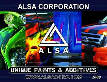Alsa Paint Catalog