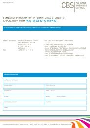 Application Form International Students