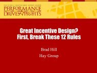 Great Incentive Design? First, Break These 12 Rules