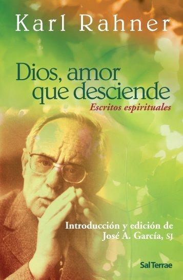 Diosamorquedesciende.. - Editorial Sal Terrae