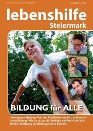 Nr. 2/2012 - Lebenshilfe Steiermark