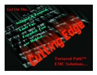 12/20/2004 1 Tortured Path™ EMC Solutions… - Coughlin Associates