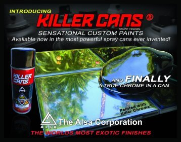 Alsa Killer Cans Catalog