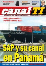 SAP Latin America´s Partner Summit 2007 - Canal TI