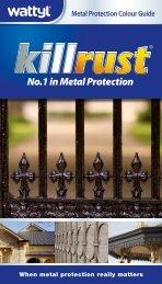 Metal Protection Colour Guide - Wattyl