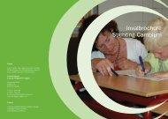 Invalbrochure Stichting Cambium