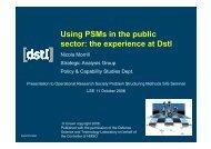 PDF presentation - The OR Society