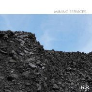 Mining Services - HDR, Inc.