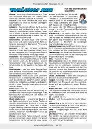 für die Grundschule Mai 2013 - Bundesverband Keramische ...