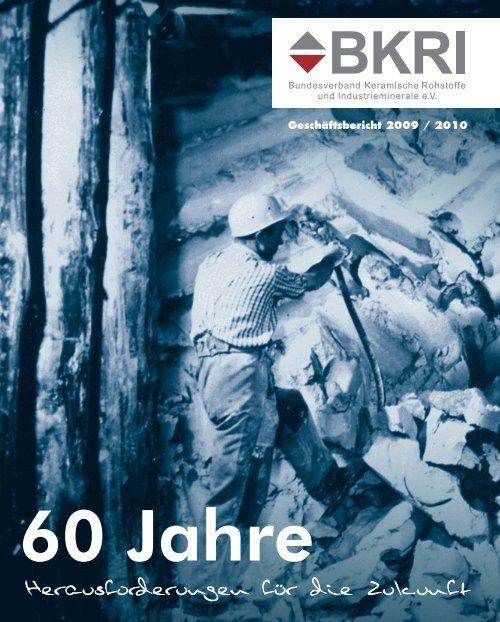 Geschäftsbericht 2009 /2010 - Bundesverband Keramische ...