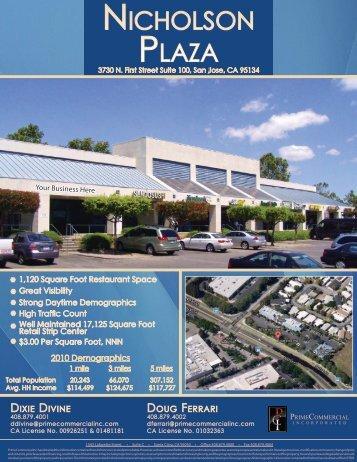 NicholsoN Plaza - Prime Commercial, Inc
