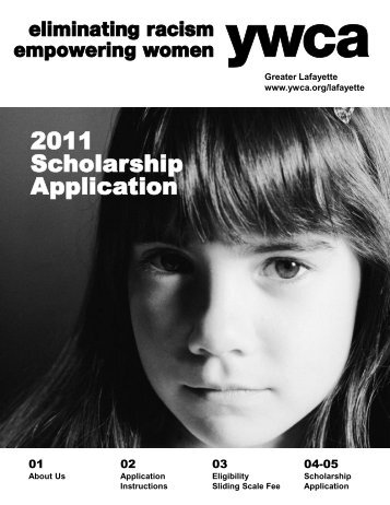 2011 Scholarship Application