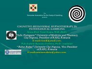 Cognitive Behavioural Hypnotherapy in Pathological Gambling