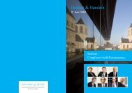 Denken & Handeln - Oppenhoff & Partner